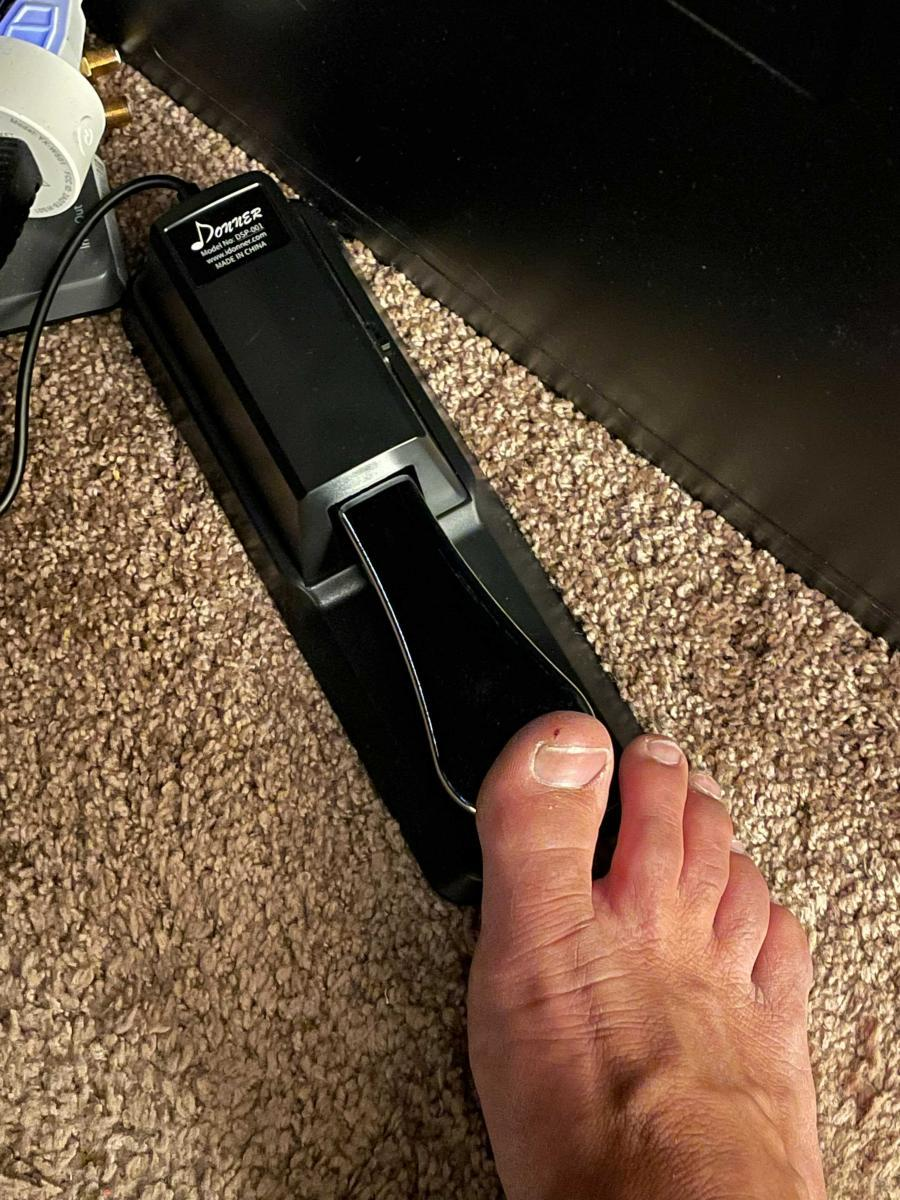The Foot Pedal