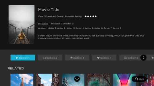 Movie Details Option A